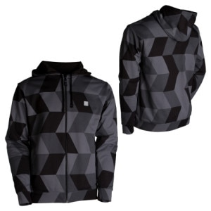 Special Blend Checksplash Custom Full-Zip Hooded Sweatshirt - Mens