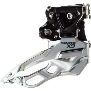 SRAM X9 3x10 High Clamp Front Derailleur