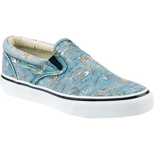Sperry Top-Sider Striper Slip-On Hawaiian Print Shoe - Men's