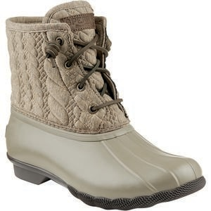 Sperry Top-Sider Saltwater Rope Emboss Neoprene Boot - Women's
