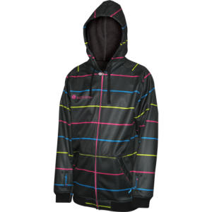Sessions Suburban Stripe Hooded Softshell Jacket - Mens