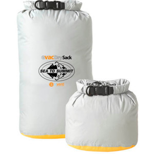 Keep your adventure racing gear dry with Sea to Summit eVac Dry Sacks