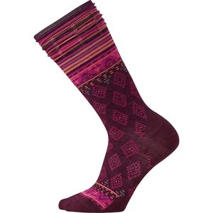 SmartWool Rocking Rhombus Mid Calf Socks - Women's