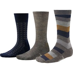 SmartWool Trio 2 Socks - Men's - 3-Pack