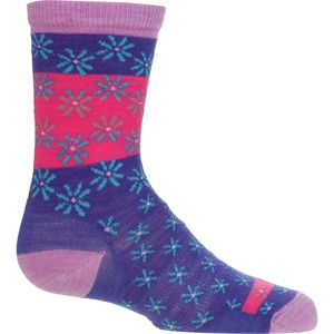 SmartWool Daisy Dot Casual Crew Socks - Girls'
