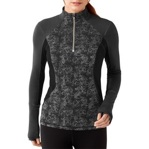 SmartWool PhD Light Printed Wind Zip Shirt - Long-Sleeve - Women's