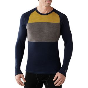 SmartWool NTS Midweight 250 Color Block Crew - Long-Sleeve - Men's