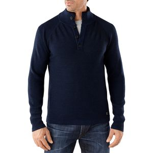 SmartWool Pioneer Ridge Half Button Sweater - Men's