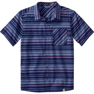 SmartWool Summit County Striped Shirt - Short-Sleeve - Men's