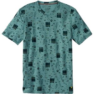 SmartWool National Park Poster Night Animals T-Shirt - Short-Sleeve - Men's
