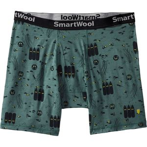 SmartWool National Park Poster Night Animals Boxer Brief - Men's