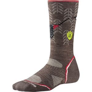 SmartWool Women's PhDOutdoor Lt Crew Sock: Charley Harper National Park Poster Canyon Country