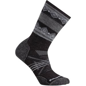 SmartWool PhD Outdoor Medium Pattern Crew Sock - Women's