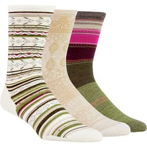 SmartWool Trio 1 Sock - 3-Pack - Women's