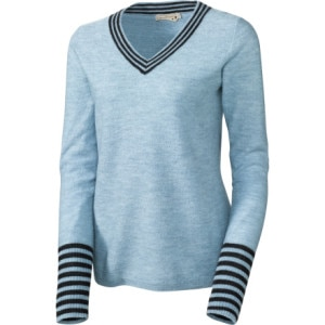 SmartWool Roundabout V-Neck Sweater - Womens