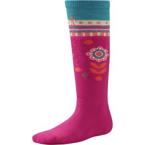 SmartWool Wintersport Flower Patch Sock - Kids'