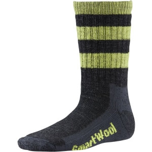 SmartWool Striped Hike Medium Crew Sock - Kids'
