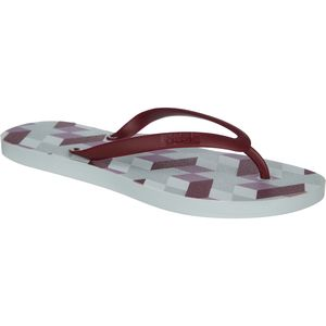 Tidal New York Geometric Light Red Sandal - Women's