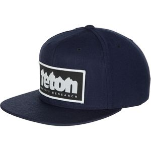 Teton Gravity Research Logo Patch Snapback Hat