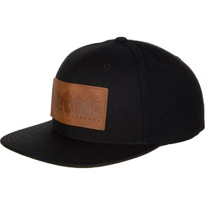 Teton Gravity Research Jackson Leather Patch Snapback Hat