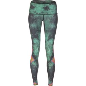 Teeki Eagle Feather Green Pant - Women's