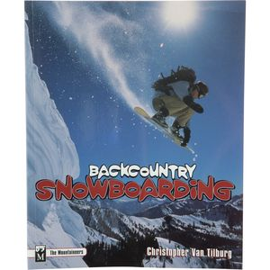 The Mountaineers Books Backcountry Snowboarding Book