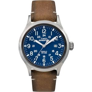 Timex Expedition Scout Leather Watch