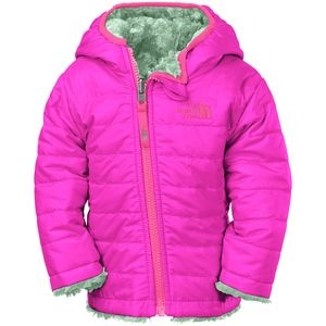 The North Face Mossbud Swirl Reversible Hooded Fleece Jacket - Infant Girls'