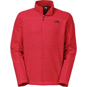 The North Face Texture Cap Rock Fleece Pullover - 1/4 Zip - Men's