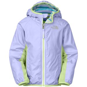 The North Face Grizzly Peak Reversible Lined Wind Jacket - Toddler Girls'