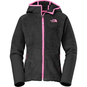 The North Face Chimboraza Hooded Fleece Jacket - Girls'
