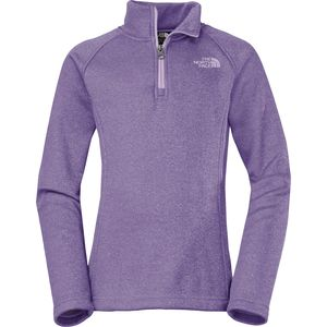 The North Face HW Agave 1/4-Zip Fleece Jacket - Girls'
