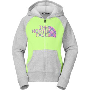 The North Face Logowear Full-Zip Hoodie - Girls'