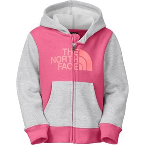 The North Face Logowear Full-Zip Hoodie - Toddler Girls'