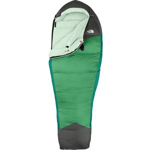 The North Face Green Kazoo Sleeping Bag: 5 Degree Down - Women's