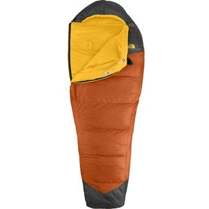 The North Face Gold Kazoo Sleeping Bag: 30 Degrees Down