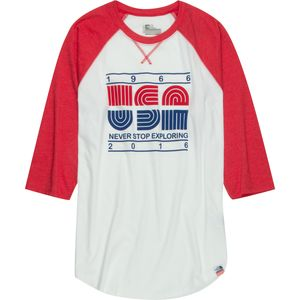 The North Face USA Baseball T-Shirt - 3/4-Sleeve - Men's