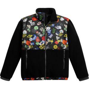노스페이스 The North Face Denali Fleece Jacket - Boys,Tnf Black Bombdiggity Print