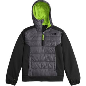 The North Face Mak 1/4-Zip Fleece Hooded Jacket - Boys'