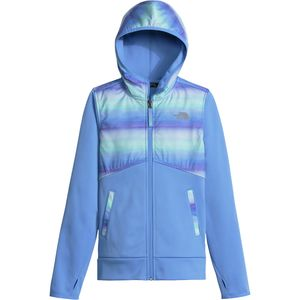 The North Face Kickin It Hooded Fleece Jacket - Girls'