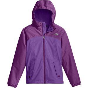 노스페이스 The North Face Warm Storm Hooded Jacket - Girls,Bellflower Purple