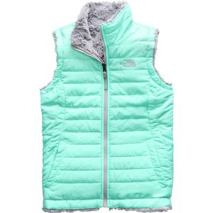 The North Face Mossbud Swirl Reversible Vest - Girls'