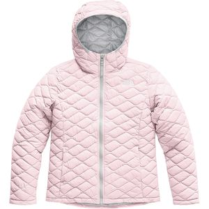 노스페이스 걸즈 자켓 The North Face ThermoBall Hooded Insulated Jacket - Girls