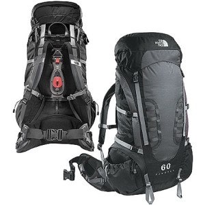 photo: The North Face Pivotal 60 weekend pack (3,000 - 4,499 cu in)