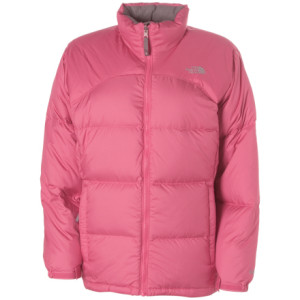photo: The North Face Girls' Nuptse Jacket down insulated jacket