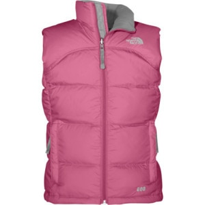 The North Face CLR Nuptse Down Vest - Girls