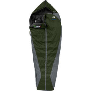 photo: The North Face Goliath 3-season synthetic sleeping bag