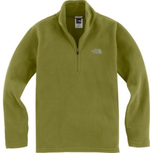 photo: The North Face Boys' TKA 100 Glacier 1/4 Zip fleece top
