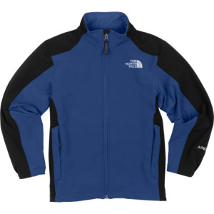 photo: The North Face Boys' Nimble Jacket soft shell jacket