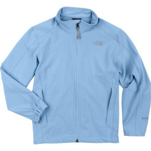 photo: The North Face Girls' Nimble Jacket soft shell jacket